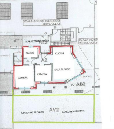 Appartamento in vendita a Alpignano, Centro, Con giardino, 93 mq - Foto 3