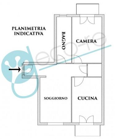 Appartamento in vendita a Milano, Gratosoglio/feraboli, 82 mq - Foto 2