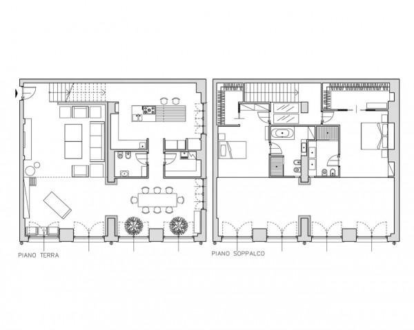 Appartamento in vendita a Milano, Certosa, Arredato, con giardino, 250 mq - Foto 2