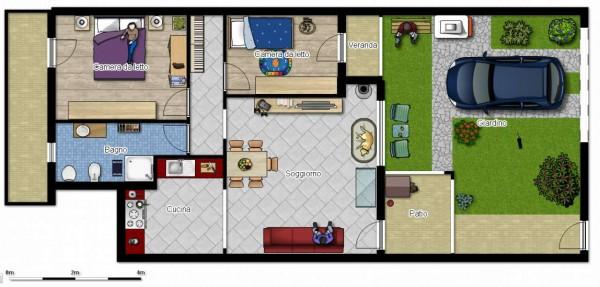 Appartamento in vendita a Dolianova, Con giardino, 75 mq - Foto 27
