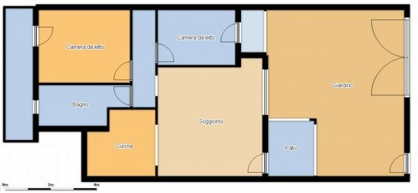 Appartamento in vendita a Dolianova, Con giardino, 75 mq - Foto 26