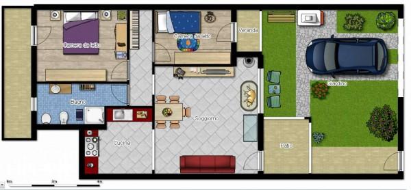 Appartamento in vendita a Dolianova, Con giardino, 75 mq - Foto 28