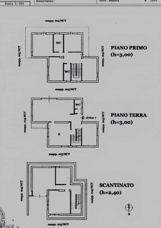 Villa in vendita a Arenzano, Pineta, Con giardino, 300 mq - Foto 2