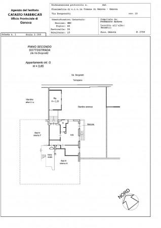 Appartamento in vendita a Genova, Con giardino, 80 mq - Foto 2