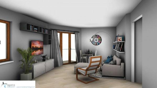 Appartamento in vendita a Torino, Rebaudengo, 95 mq