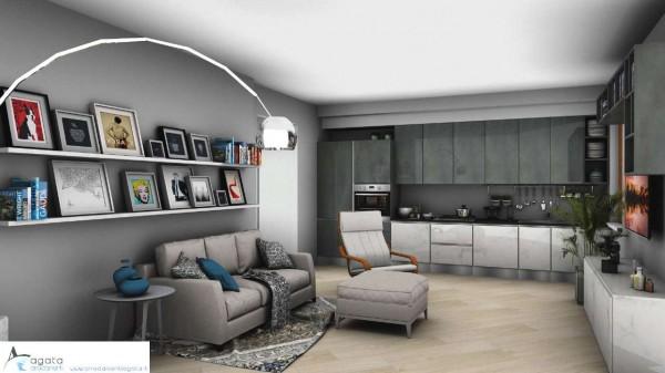 Appartamento in vendita a Torino, Rebaudengo, 95 mq - Foto 6