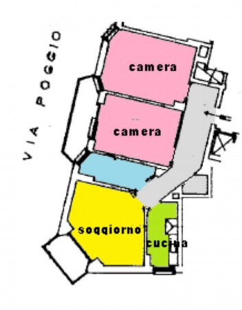 Appartamento in vendita a Torino, Rebaudengo, 95 mq - Foto 9