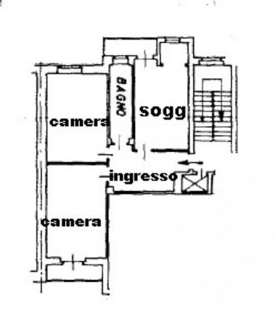 Appartamento in vendita a Torino, Rebaudengo, 78 mq - Foto 2