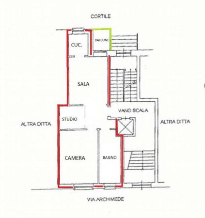 Appartamento in vendita a Nichelino, Centro, 65 mq - Foto 2