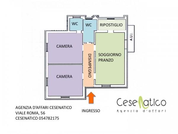 Appartamento in affitto a Cesenatico, 90 mq - Foto 2