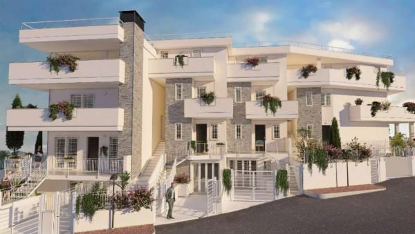 Appartamento in vendita a Roma, Valle Muricana, Con giardino, 97 mq