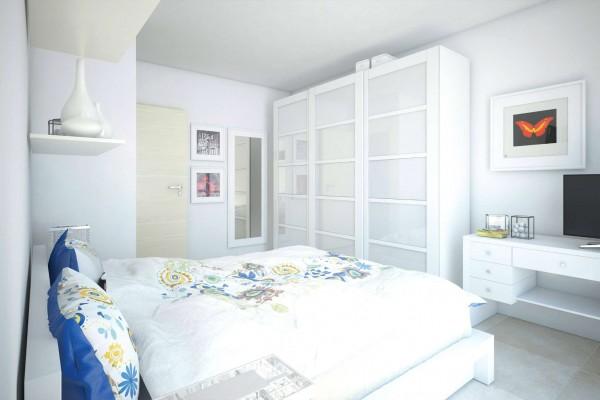 Appartamento in vendita a Roma, Valle Muricana, Con giardino, 97 mq - Foto 11
