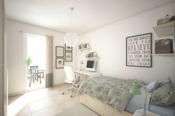 Appartamento in vendita a Roma, Valle Muricana, Con giardino, 97 mq - Foto 10