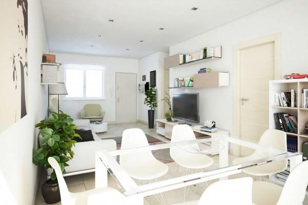Appartamento in vendita a Roma, Valle Muricana, Con giardino, 97 mq - Foto 13