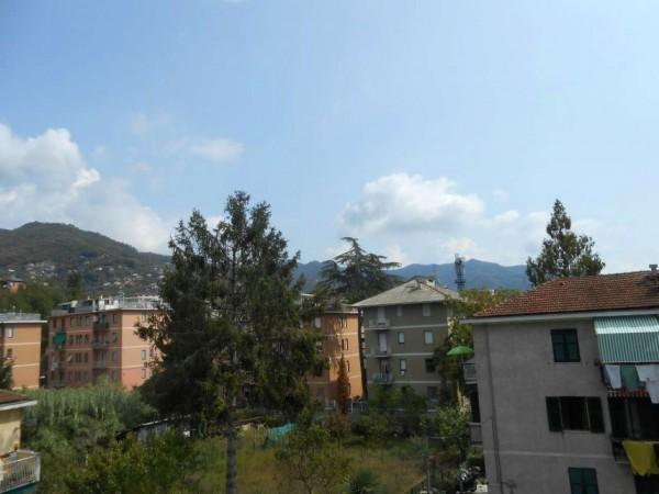 Appartamento in vendita a Rapallo, Santa Maria Del Campo, Con giardino, 52 mq - Foto 4
