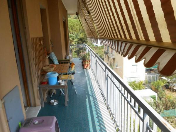 Appartamento in vendita a Rapallo, Santa Maria Del Campo, Con giardino, 52 mq - Foto 16