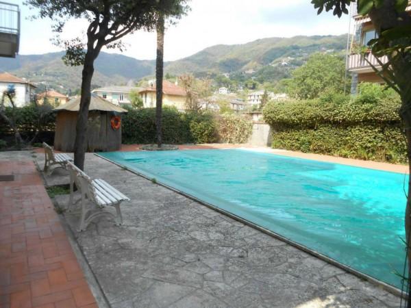 Appartamento in vendita a Rapallo, Santa Maria Del Campo, Con giardino, 52 mq - Foto 10