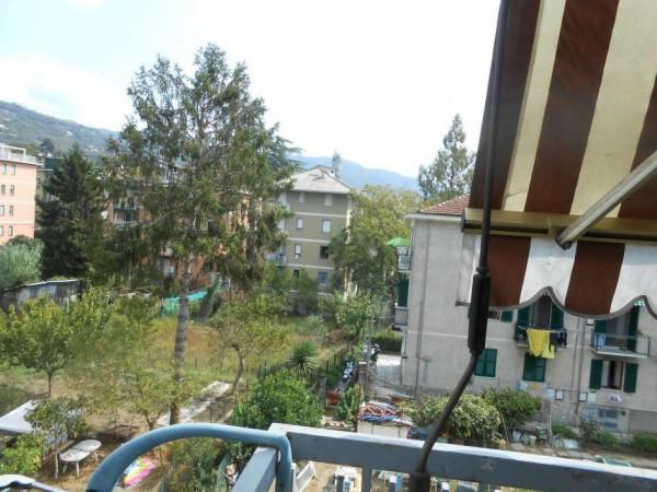 Appartamento in vendita a Rapallo, Santa Maria Del Campo, Con giardino, 52 mq - Foto 13