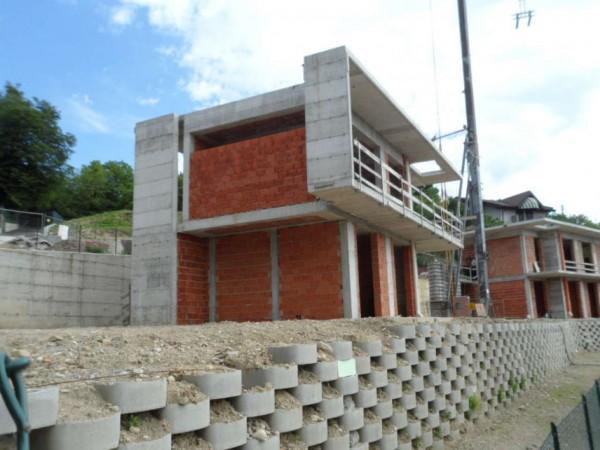 Villa in vendita a Gavirate, Con giardino, 220 mq - Foto 24