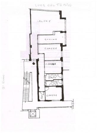 Appartamento in vendita a Firenze, Con giardino, 140 mq - Foto 9