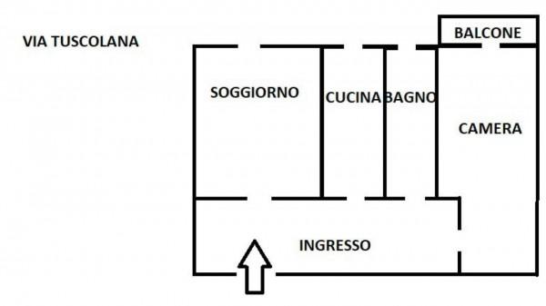 Appartamento in affitto a Roma, Re Di Roma, 70 mq - Foto 17