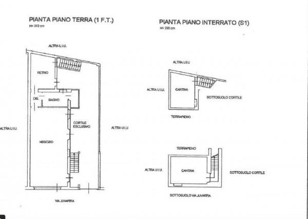 Negozio in vendita a Venaria Reale, Centro, 75 mq - Foto 3