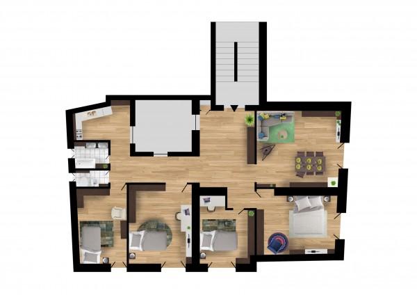 Appartamento in vendita a Subiaco, Subiaco, 150 mq