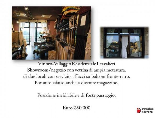 Negozio in vendita a Vinovo, I Cavalieri, 92 mq - Foto 2
