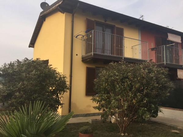 Villetta a schiera in vendita a Brembio, Con giardino, 130 mq - Foto 9