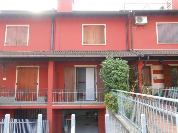 Villetta a schiera in vendita a Vaiano Cremasco, Residenziale, Con giardino, 178 mq - Foto 3