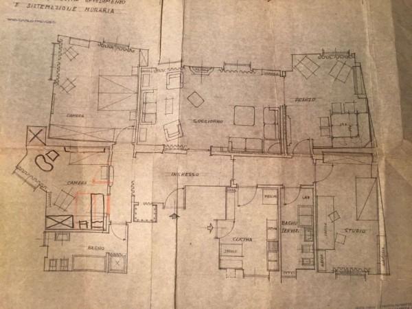 Appartamento in affitto a Varese, Piazza Motta, 180 mq - Foto 30