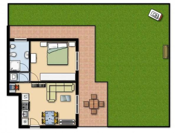 Appartamento in vendita a Senago, Con giardino, 60 mq - Foto 12