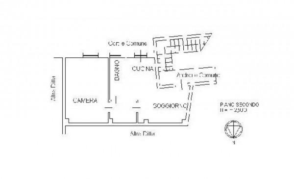 Appartamento in vendita a Milano, Affori Centro, 55 mq - Foto 2