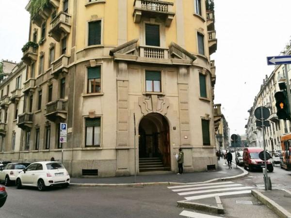 Ufficio in affitto a Milano, San Babila Tribunale, 130 mq