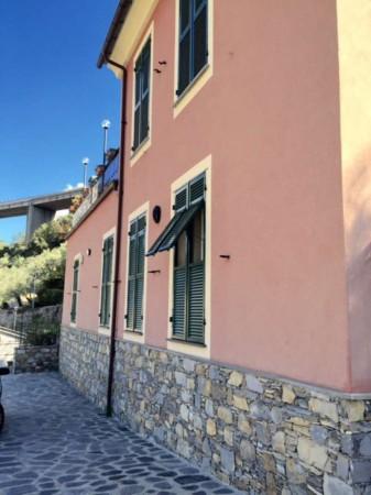 Villa in vendita a Recco, Con giardino, 170 mq