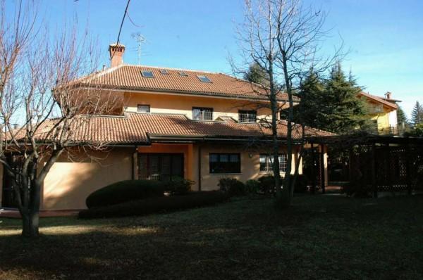 Villa in vendita a Rosta, Arredato, con giardino, 370 mq - Foto 1