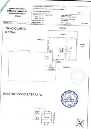 Appartamento in vendita a Milano, Piazzale Bacone, Con giardino, 170 mq - Foto 2