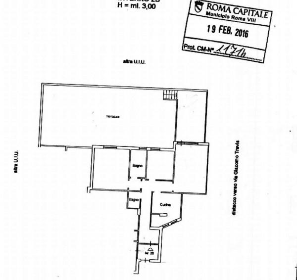 Appartamento in vendita a Roma, Ardeatino, Con giardino, 110 mq - Foto 2