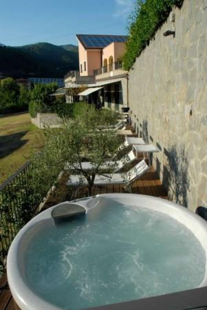 Villa in vendita a Casarza Ligure, Adiacenze Via Iv Novembre, Arredato, con giardino, 560 mq - Foto 38