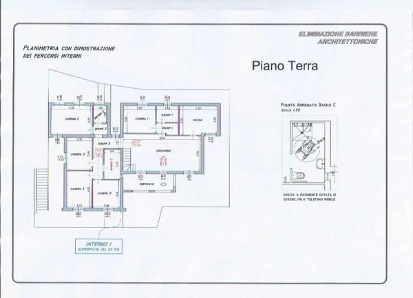 Villa in vendita a Casarza Ligure, Adiacenze Via Iv Novembre, Arredato, con giardino, 560 mq - Foto 7