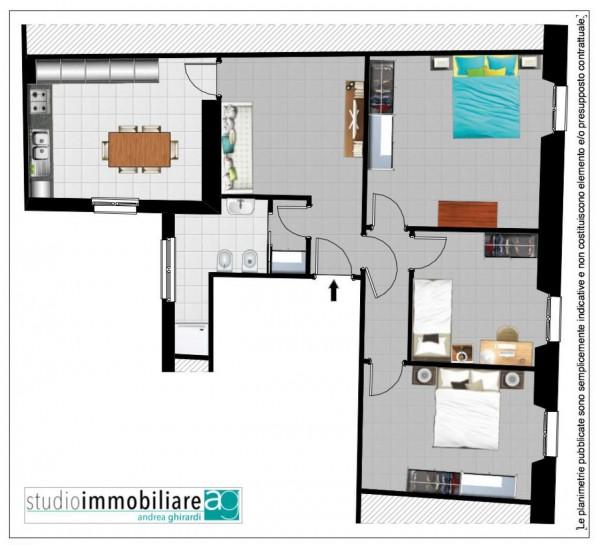 Appartamento in vendita a Genova, Sestri Ponente, Arredato, 80 mq - Foto 2