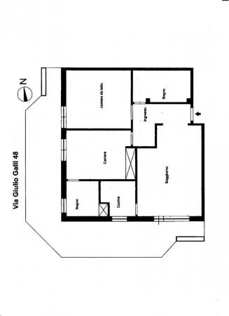 Appartamento in vendita a Roma, Cassia, Con giardino, 90 mq - Foto 2