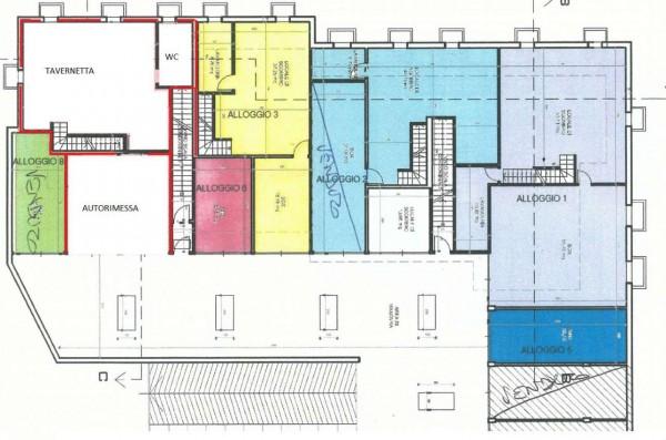 Appartamento in vendita a Givoletto, Con giardino, 131 mq - Foto 3