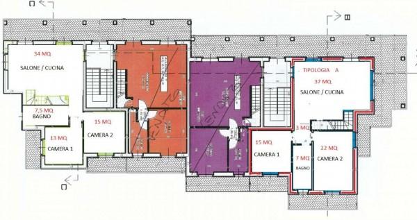 Appartamento in vendita a Givoletto, Con giardino, 170 mq - Foto 7