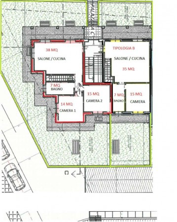 Appartamento in vendita a Givoletto, Con giardino, 170 mq - Foto 3