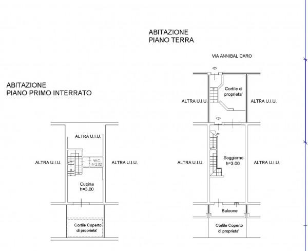 Villetta a schiera in vendita a Milano, Affori, Con giardino, 165 mq - Foto 3