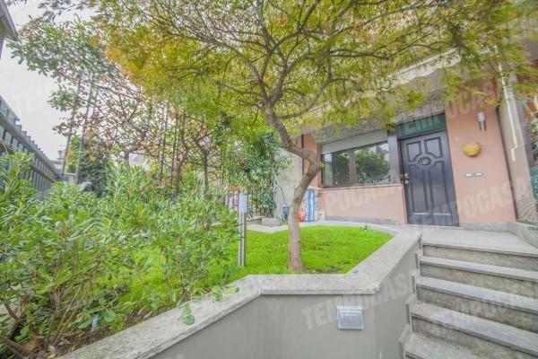 Villetta a schiera in vendita a Milano, Affori, Con giardino, 165 mq - Foto 4