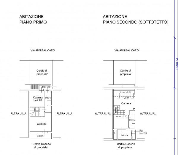 Villetta a schiera in vendita a Milano, Affori, Con giardino, 165 mq - Foto 2
