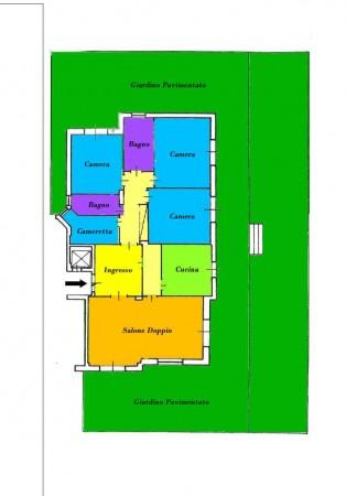 Appartamento in vendita a Roma, Talenti, Con giardino, 224 mq - Foto 7