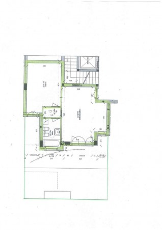 Appartamento in vendita a Treviglio, Arredato, con giardino, 70 mq - Foto 2